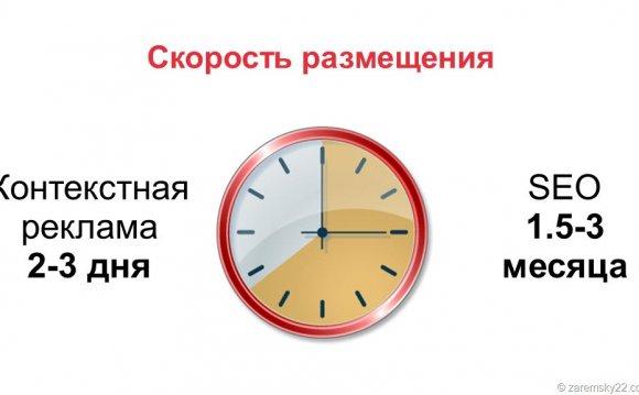 Таким образом: скорость