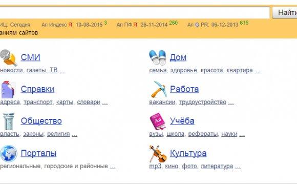 Яндекс каталог продвижение сайтов продвижение сайта в интернете без вложений
